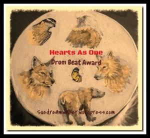 Heart's as one, dreamwalker's drumbeat award